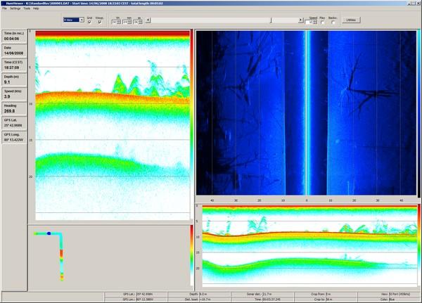 HumViewer - Viewer of Humminbird sonar recording files